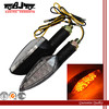 BJ-SL-011 Amber Universal Motorcycle Scooter Chopper LED turn signal light