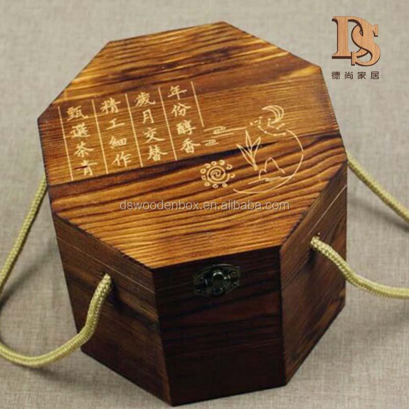 Venta al por mayor cajas de madera con mango-Compre online los ...
