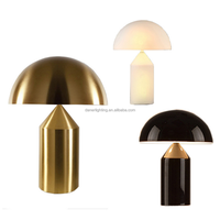 2018 New Design mushroom shape Cylindrical Lamp classic brass cc table Lamp For Living Room