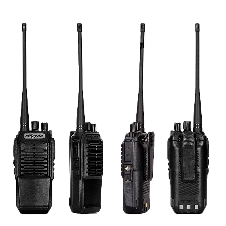 8 watt High Power Polizei Scanner 150MHz VHF 400MHz UHF Handlichen Talkie CD-628 2 weg radio