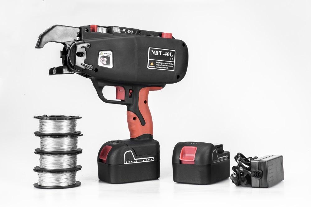 ODETOOLS 110V rebar tier machine wl-400  hand rebar tying tool CE ridgid tools