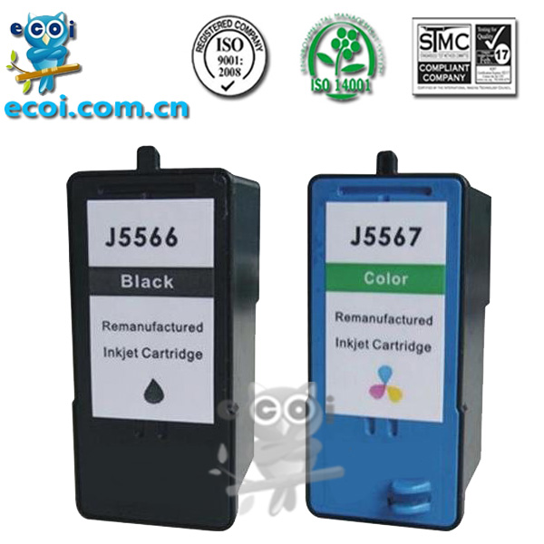 refillable ink cartridge machine compatible for dell J5566 J5567 inkjet