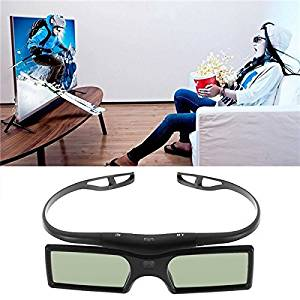 inphu 1pc Bluetooth 3D Shutter Active Glasses for Samsung/for Panasonic for Sony 3DTVs Universal TV 3D Glasses Newest
