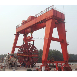 semi portal industrial load and unload container gantry crane