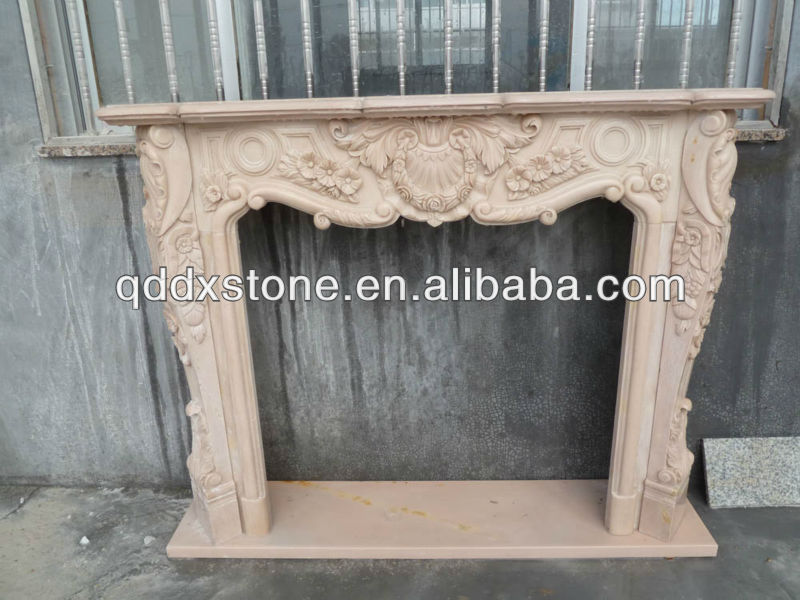 Brown Marble Fireplace Brown Marble Fireplace Suppliers and
