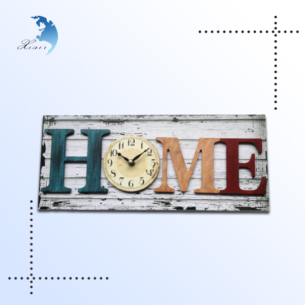 China Multi-function Antique Decorative Wall Wood Carving Clock