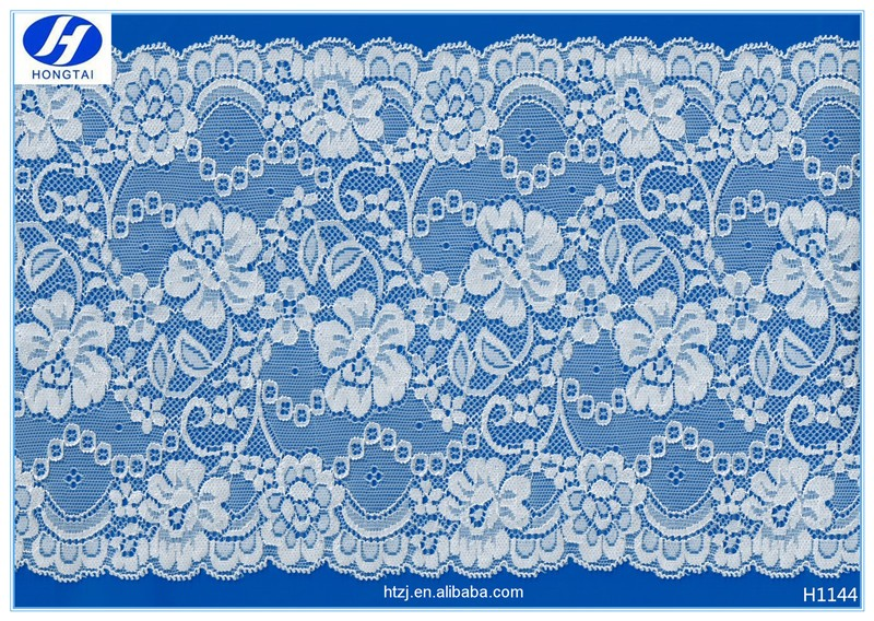 Hongtai floral lace fabric wholesale embroidery design lace fabric lace material