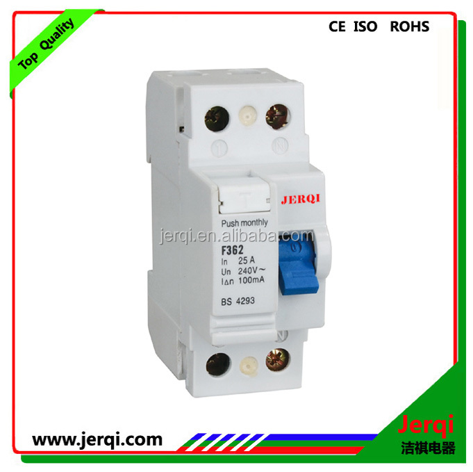 2pole 63a 30ma Rcd F360 Type Magnetic Residual Current Circuit ...