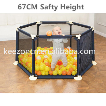 Durable Hexagon Infant Baby Kids Indoor Out Door Playen Fence Buy