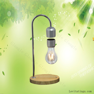 Magnetic Levitating Floating Wireless LED Light Bulb Desk Lamp for Unique Gifts