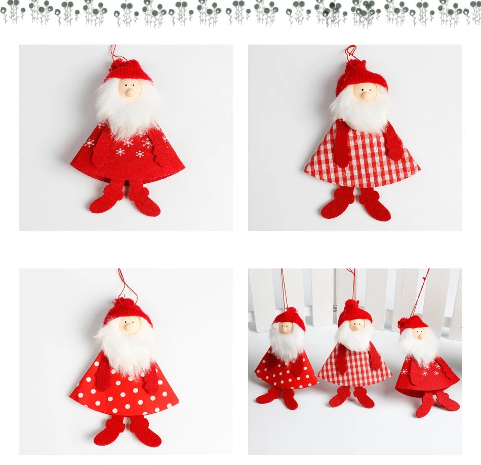 Christmas tree hanging decorations new parachute santa claus snowman - Christmas Hanging Santa Claus Decoration Christmas Hanging Santa Claus Decoration Suppliers And Manufacturers At Alibaba Com