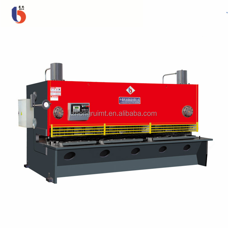 QC11Y/K 8*2500 hydraulic power source cnc guillotine plate cutting machine