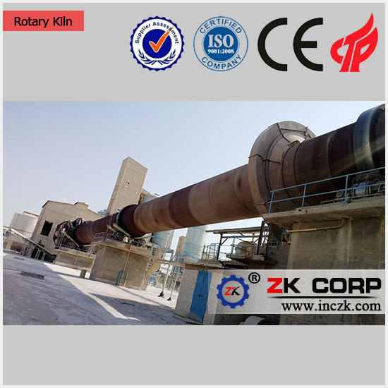 Horizontal rotary kiln for cement/lime/Magnesium production line
