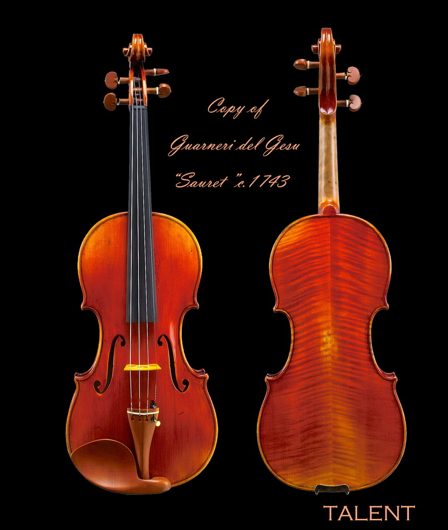 "Deluxe Violin (Copy of Guarneri del Gesu ""Souset"" c. 1743)"