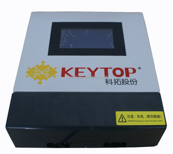 zone control unit with lcd display showing real-time status of each parking space detector