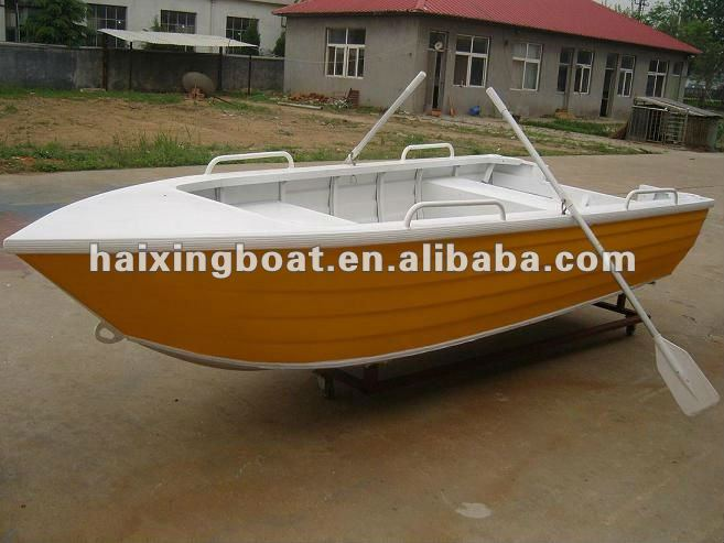 15ft)deep-v Aluminum Fishing Boat;used Aluminum Boats