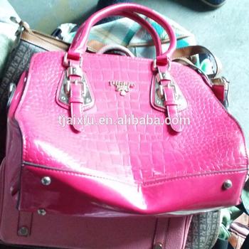 50kg Bales Las Handbags Leather Used Bags