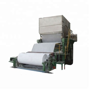 787mm 1 tone per Wide application tissue paper making machine and facial paper tissue production line with cheap price