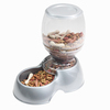 PP PE Plastic Automatic Dog Feeder For Food And Water