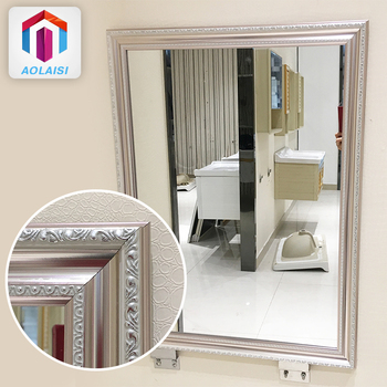 Aluminum Silver Metal Frame Wall