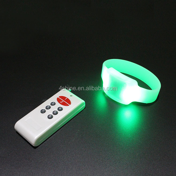 Party Items Supplier Rfid Led Wristband,Color Changing Glow In The ...