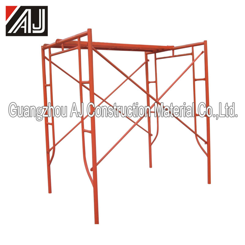 Walk Thru System/Walk Through Steel Frame Scaffolding for Masonry Construction (Made in Guangzhou)
