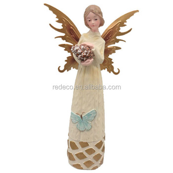 Resin Large Fairy Figurines Fairy Garden Miniatures,fairy Figurines  Wholesale