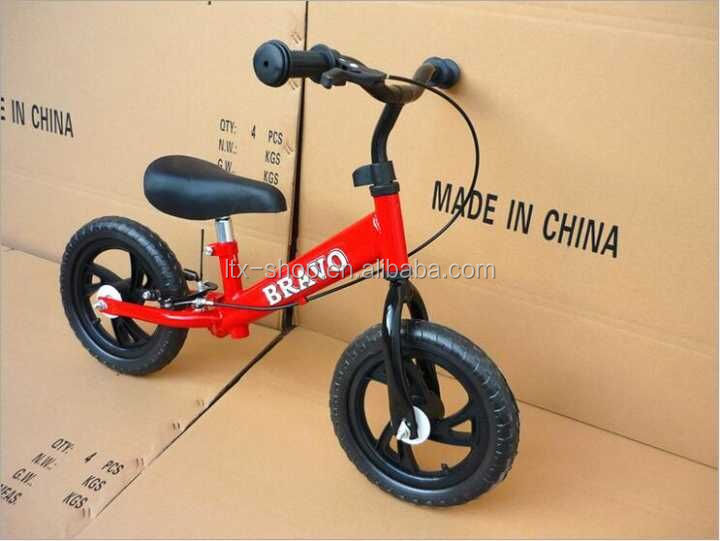 2016 High Quality 12inch Self Balancing Training Bike For Kids Adjustable Balancing Training Bike For Children