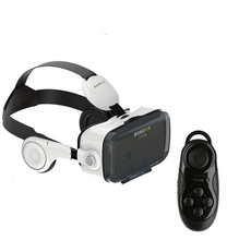 100% Original Xiaozhai BOBOVR Z4 Virtual Reality 3D Glasses Headset Google Cardboard with Headphone + Bluetooth controller