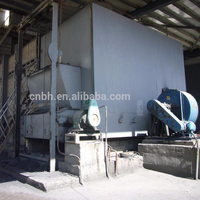 Industrial drying indirect heat exchanging coal fired hot air furnace