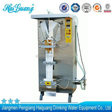 High quality guangdong liquid pack small-scale water filling machine