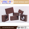 ISO certificate Zibo Hitech electro-fused MgO-Cr refractory brick for cement kilns