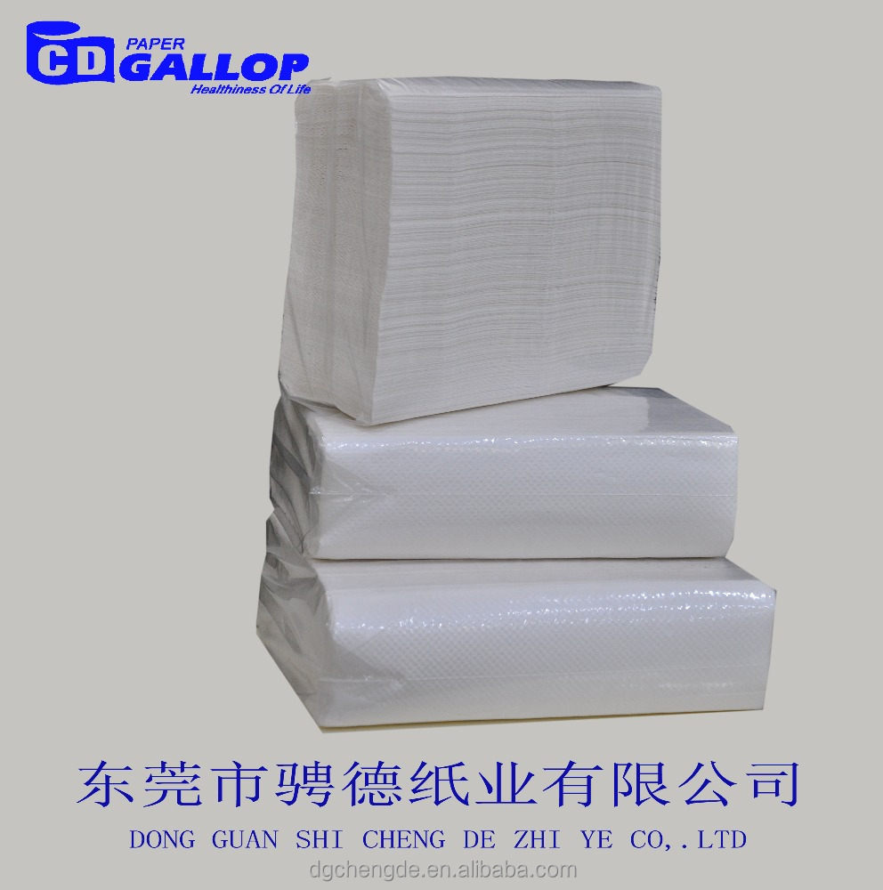 wholesale toilet paper towel factory recycle virgin pulp N-Fold