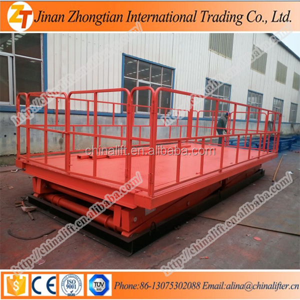 2018 HOT CE Fixed scissor lift platform stationary scissor lift tables Car hydraulic electric LIFT