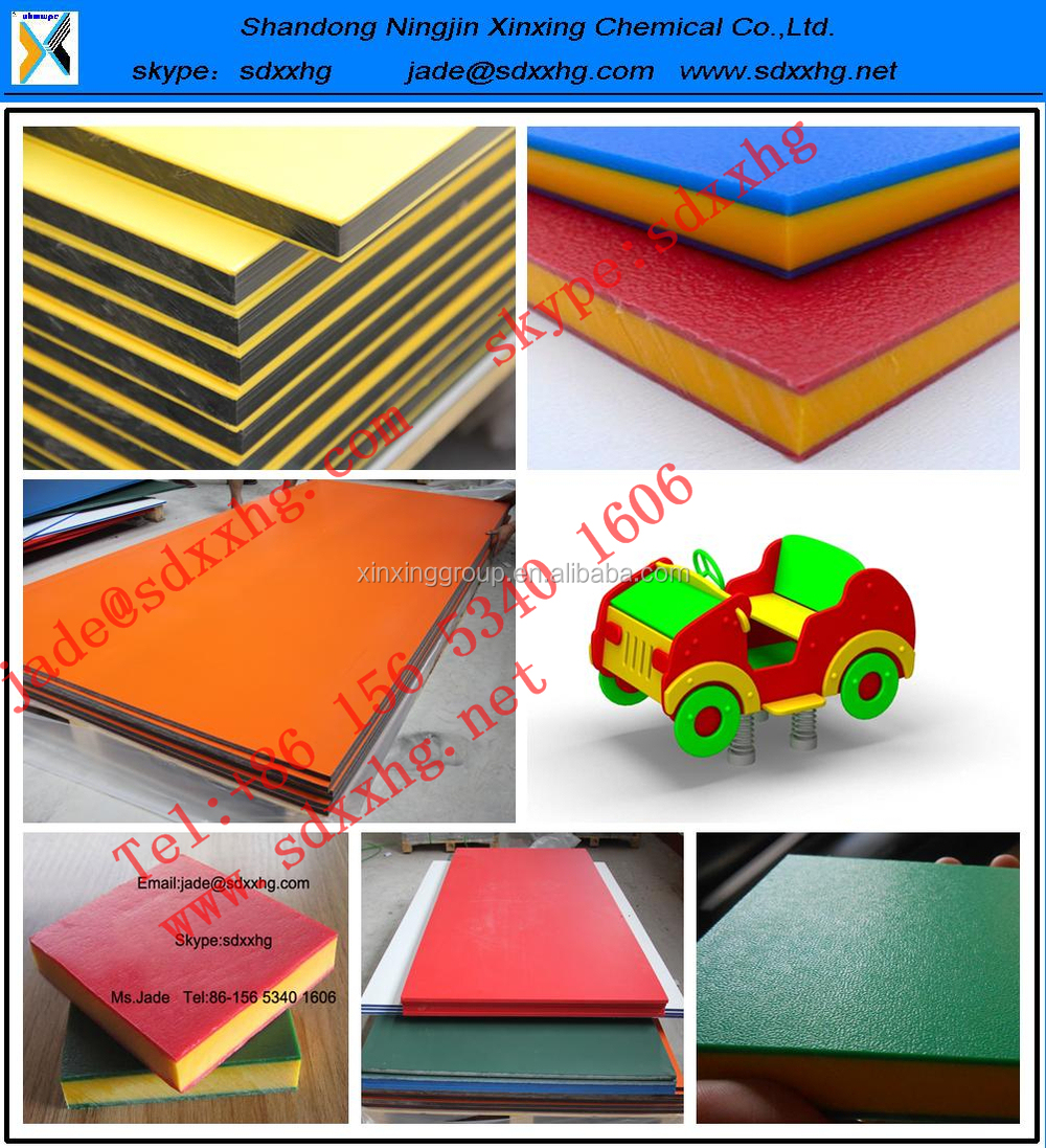 Sandwich 3 Layer Hdpe Double Color Plastic Sheet And Board - Buy ...