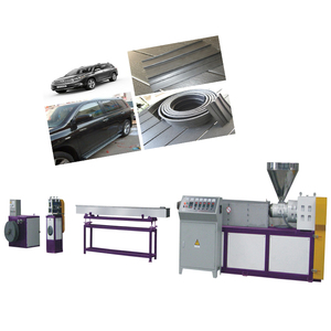 Pvc rubber soft sealing strip production line