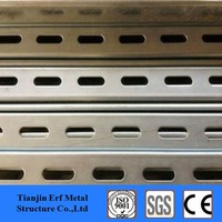 "1-5/8"" x 13/16"" light gauge steel studs lip chanenl steel for solar photovoltaic stents"