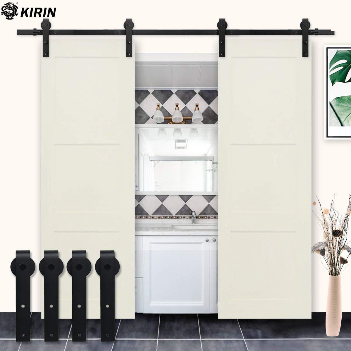 Get Quotations Kirin Country Simple Style Flat Shape Double Doors Wood Door Interior Closet Barn Hardware Accessories