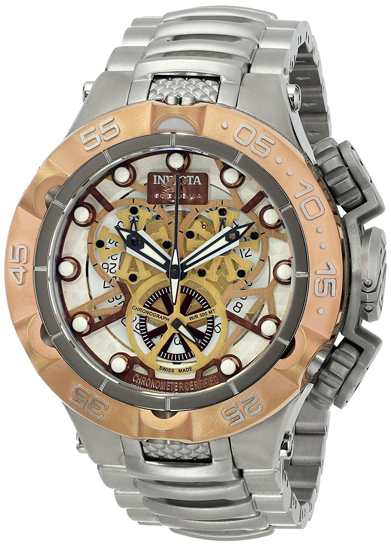 Invicta Men's 13736 Subaqua Analog Display Swiss Quartz Silver Watch