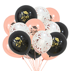 Father Day Decoration Balloon Set Dad I Love You Foil Balloon Rose Gold Color Balloon Set For Father Day  Party Decoration