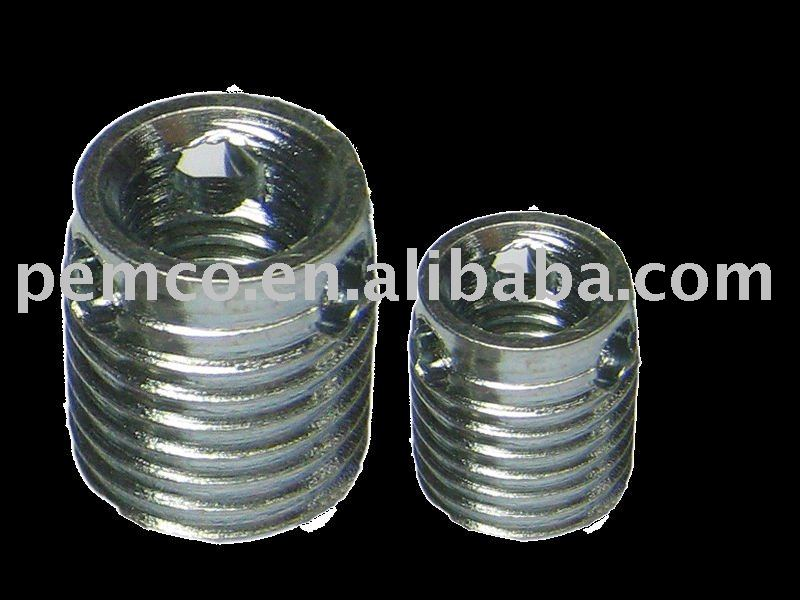 Stainless Steel Self-tapping Threaded Inserts For Plastic With ...