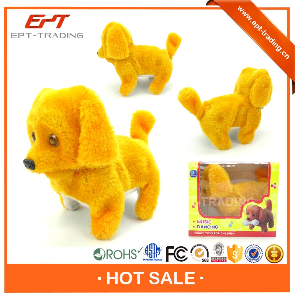 Hot sale kids funny battery operated barking robot dog toy with top quality