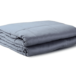 Weighted Idea Limited Promo Weighted Blanket | 12 lbs | 48''x78'' | Navy Blue | Great for Insomnia, Agitation, Autism