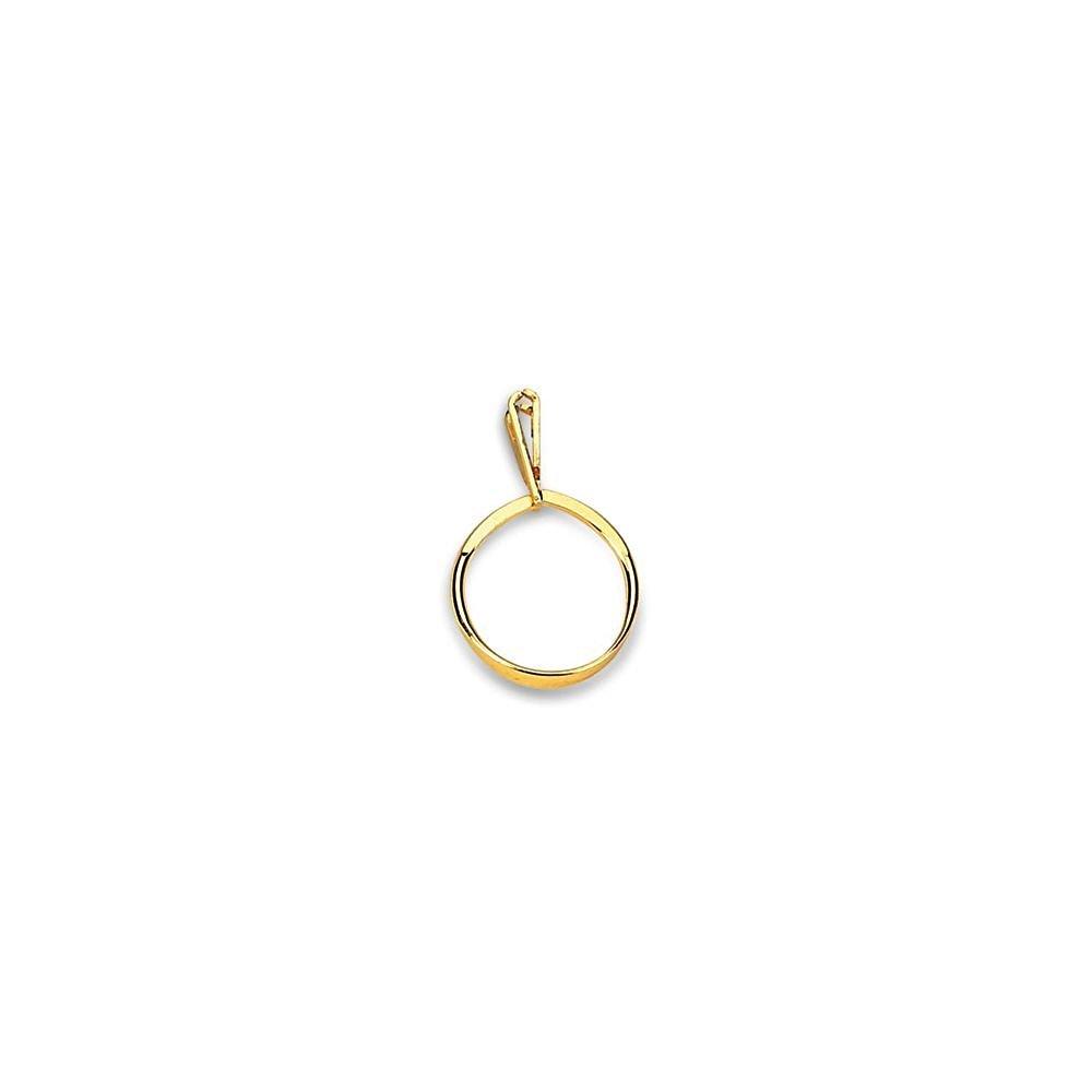 Large Gold Ring Display