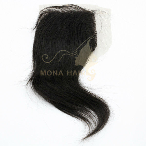 2012 hot sale light color I-tip hair extention lace top closure