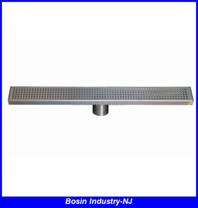 stainless steel sidewalk floor drain grate with UPC certification