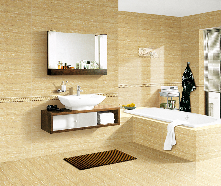 300 x 600mm gold decorative bathroom ceramic tiles