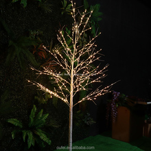 Hot sale 2.13m super quality with low price indoor or outdoor copper wire led lights tree light
