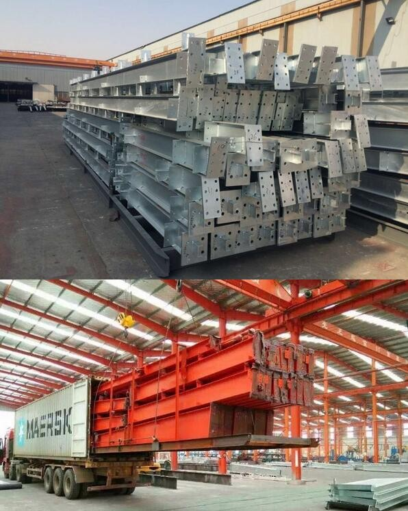 steel structure construction warehouse workshop container house all kinds of materials steel plates steel beam sandwich panel