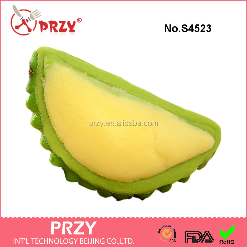 S4523 Thai durian fruit soap mold,durian mold for soap ,silicone durian soap mold